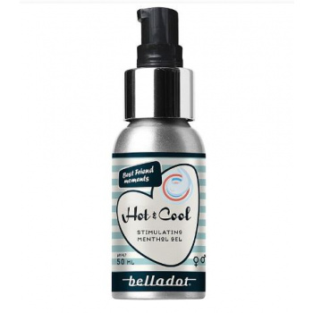Belladot - Hot & Cool Stimuloiva Geeli Menthol 50ml