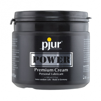 Pjur - Power Premium Cream Lubricant 500 ml